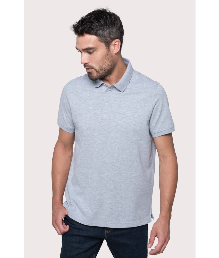 Kariban | K225 | Men's short sleeve stud polo shirt