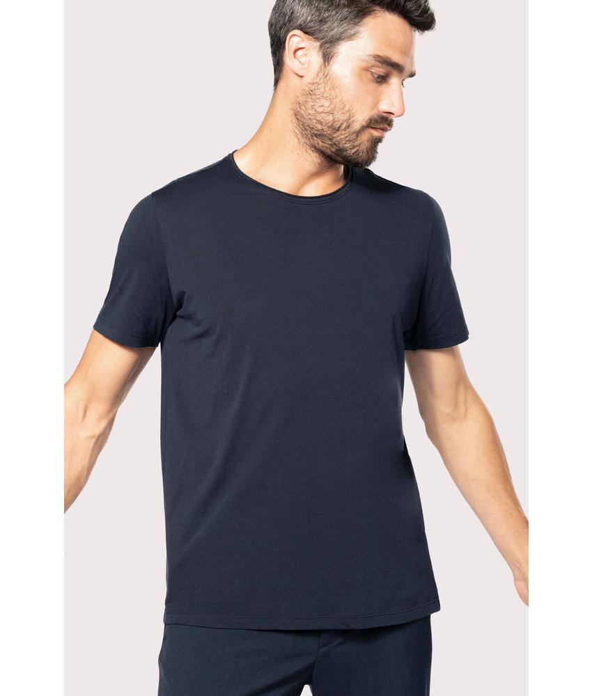 Kariban | K398 | Men's short-sleeved organic t-shirt with raw edge neckline
