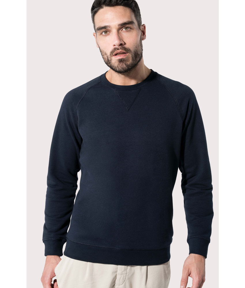 Kariban | K480 | Men's organic cotton crew neck raglan sleeve sweatshirt