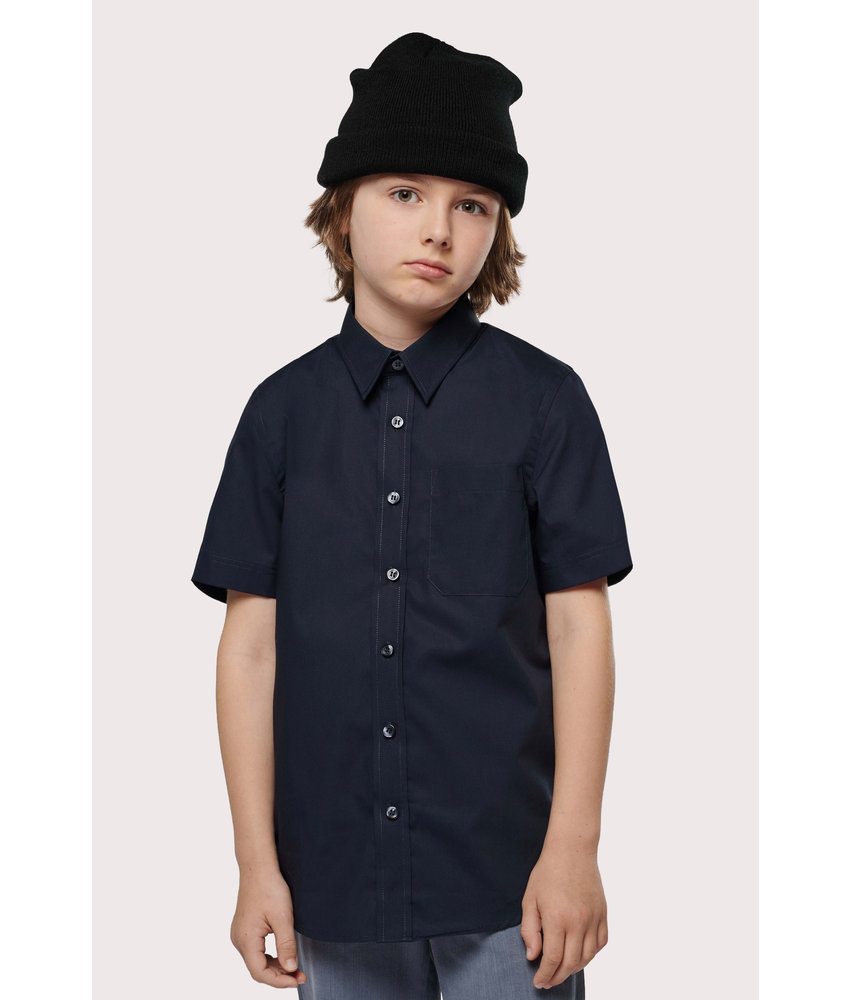 Kariban | K520 | KIDS' SHORT-SLEEVED COTTON POPLIN SHIRT