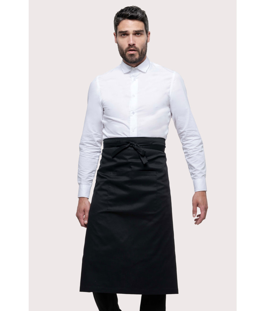 Kariban | K8004 | Polycotton extra-long apron