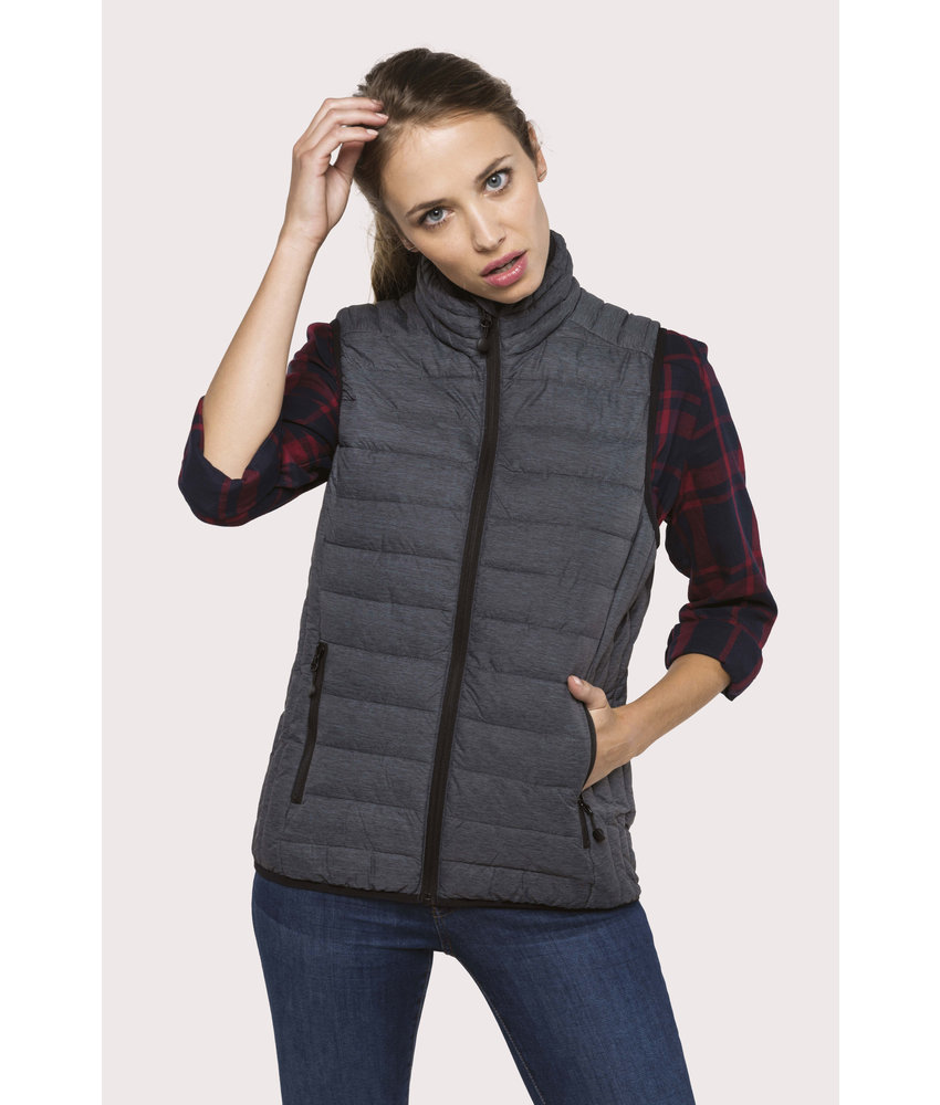 Kariban | K6114 | Ladies' lightweight sleeveless fake down jacket