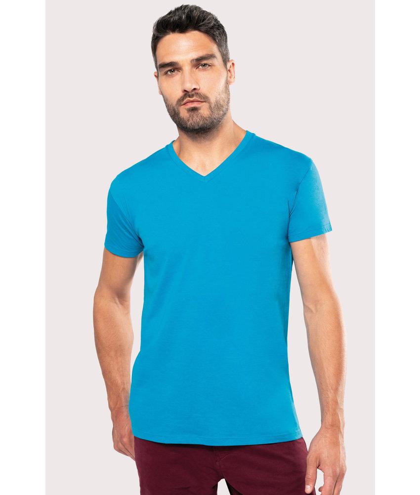 Kariban Heren-t-shirt BIO150 V-hals