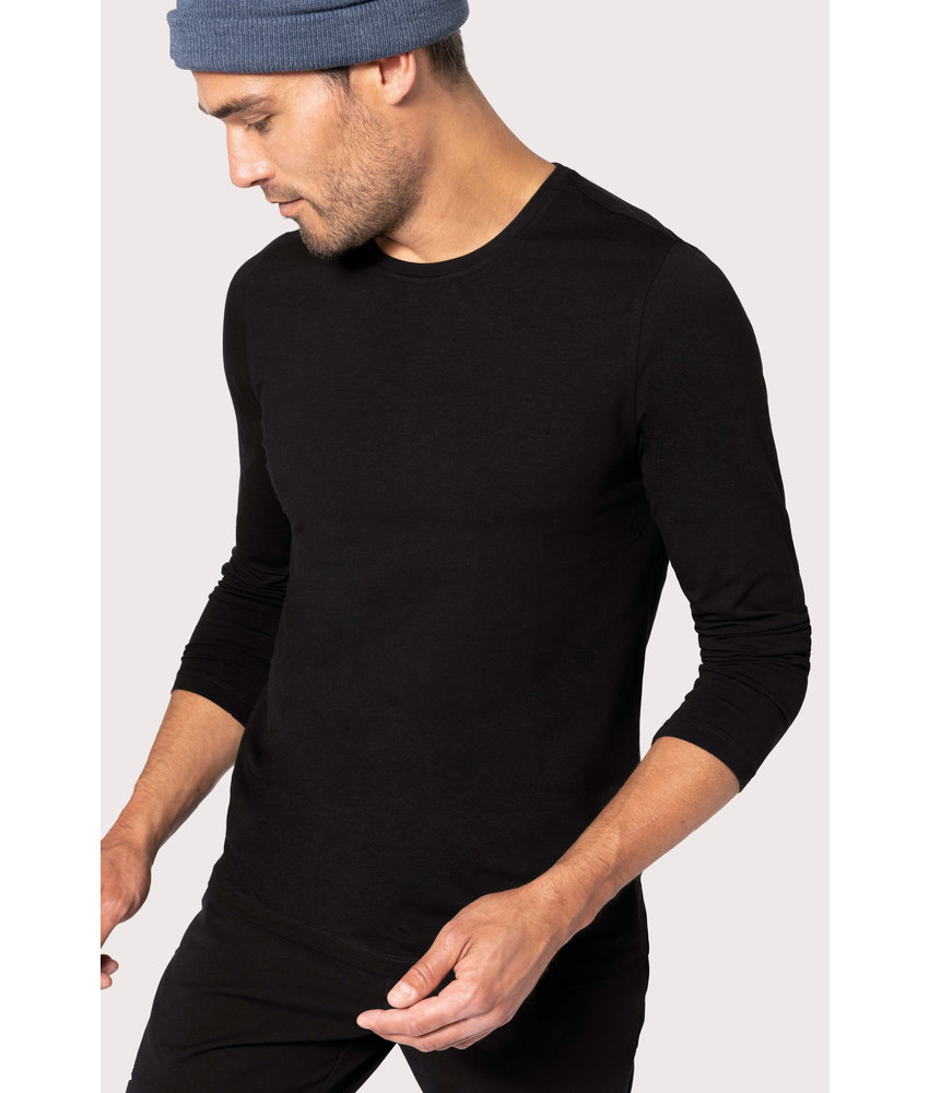 Kariban | K3016 | Men's long-sleeved Crew neck t-shirt