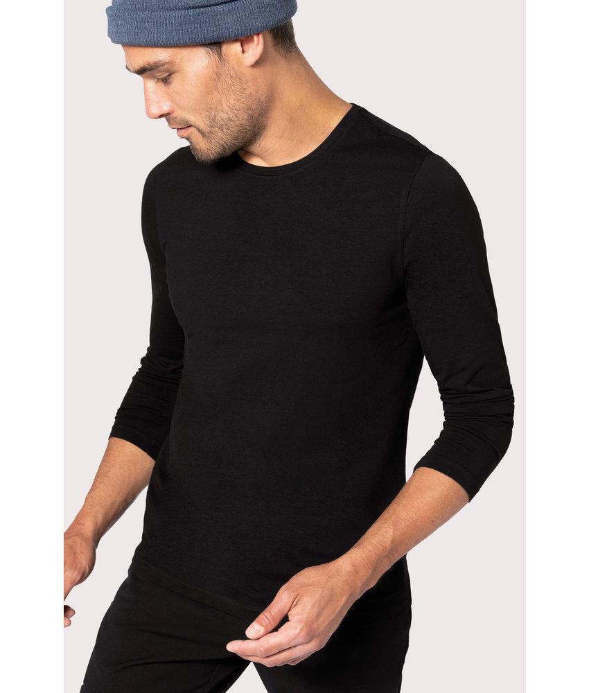Kariban T-shirt ronde hals lange mouwen