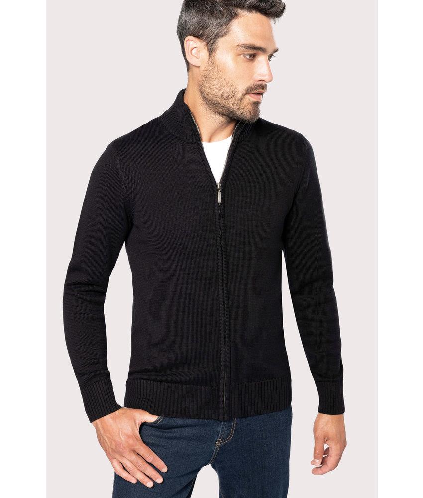 Kariban Men's Full Zip Cardigan Vest