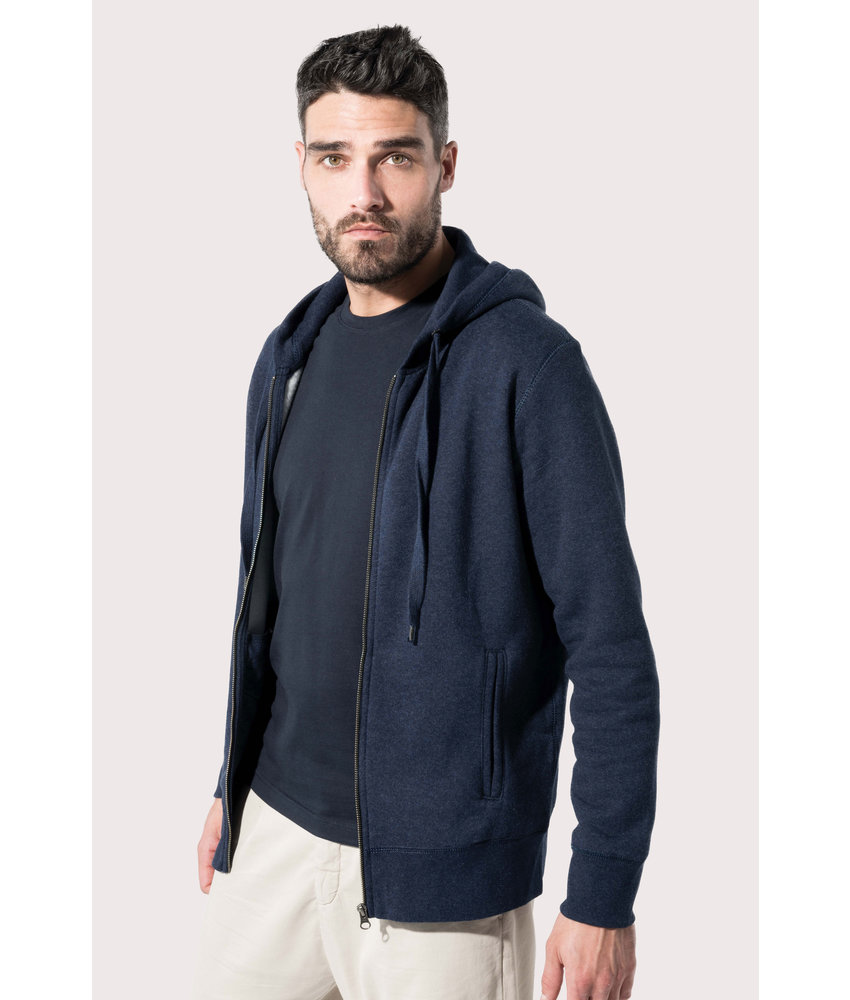 Kariban | K484 | Men's organic full zip hooded sweatshirt