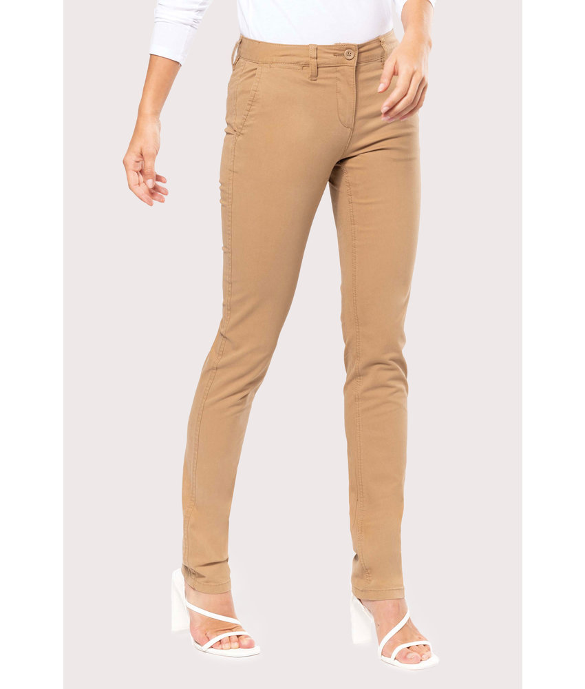 Kariban | K741 | Ladies' chino trousers