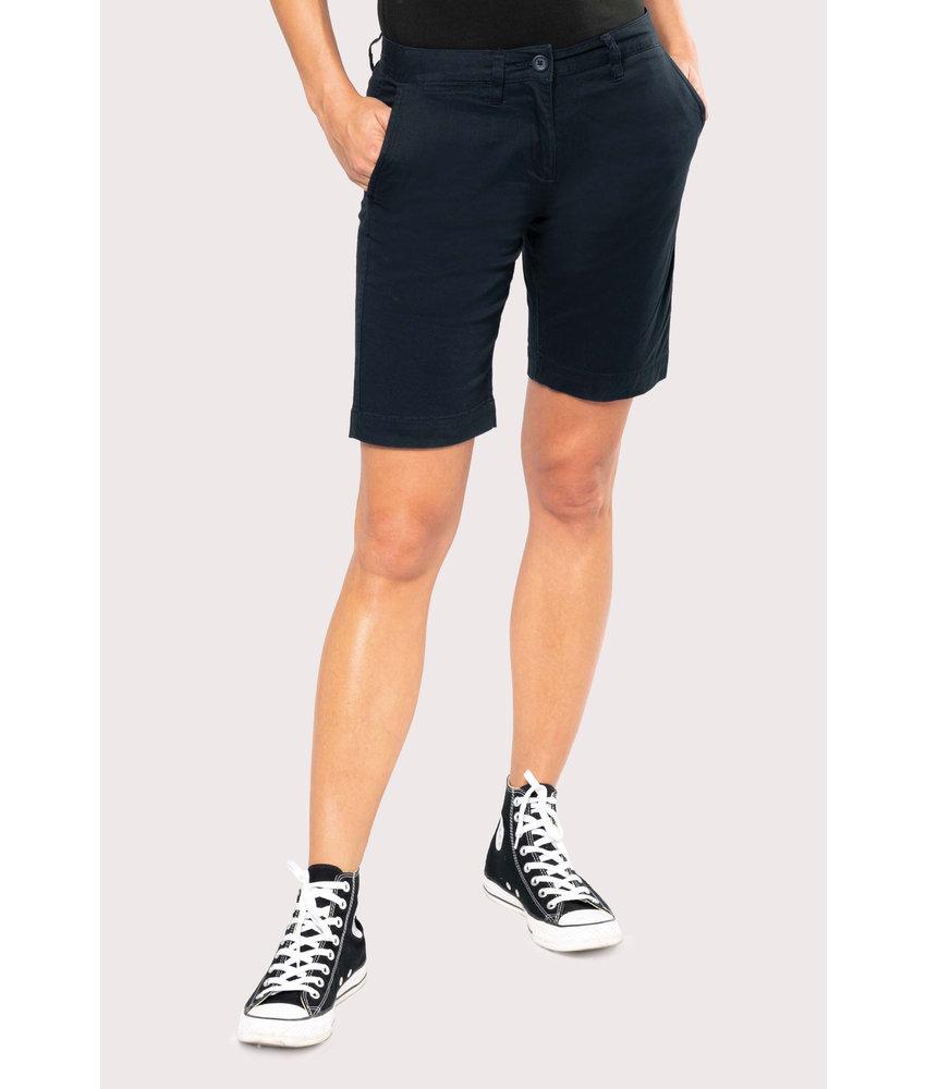 Kariban | K751 | Ladies' chino Bermuda shorts