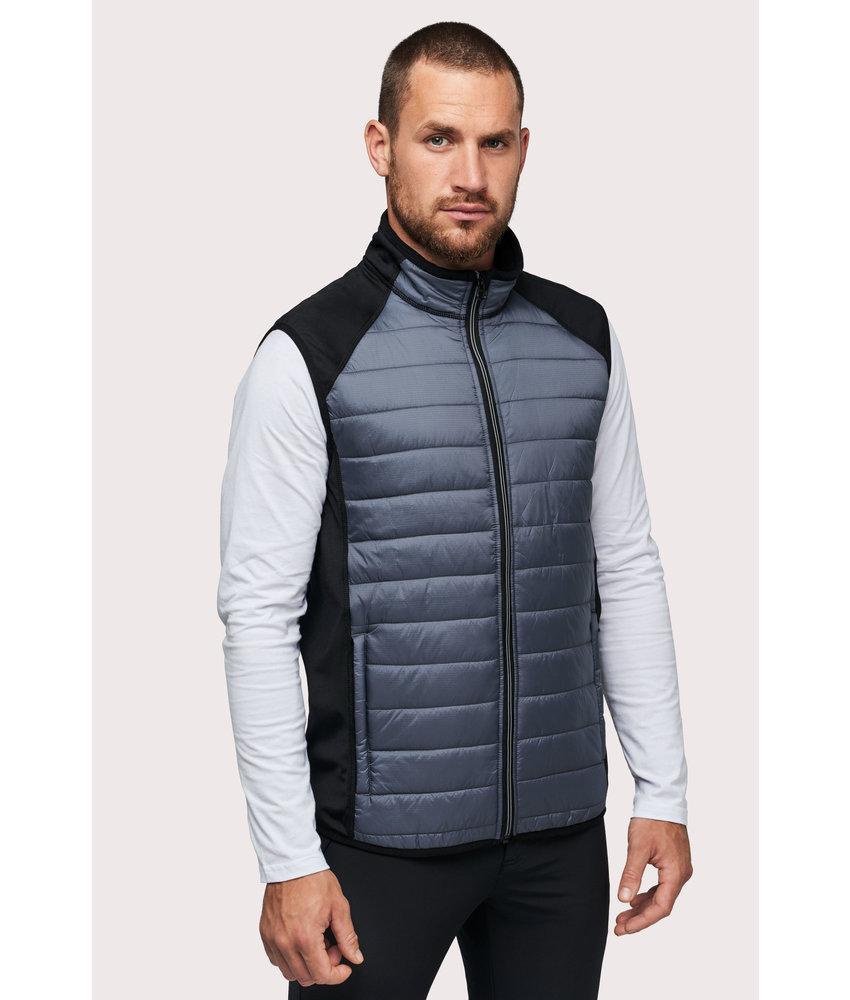 Proact | PA235 | Dual-fabric sleeveless sports jacket