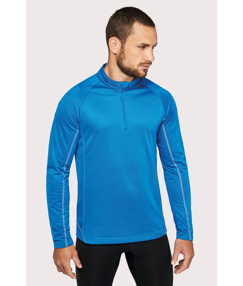 Proact | PA335 | Men's zip neck running sweatshirt