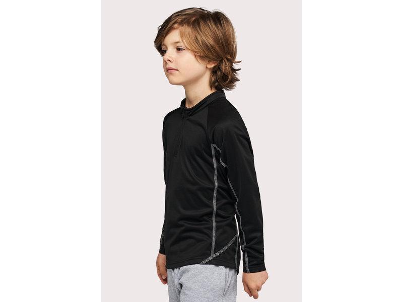 Proact Kids' 1/4 Zip Running Sweater
