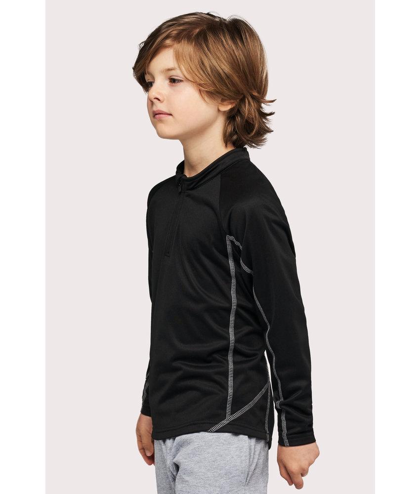 Proact | PA346 | Kids' zip neck running sweatshirt