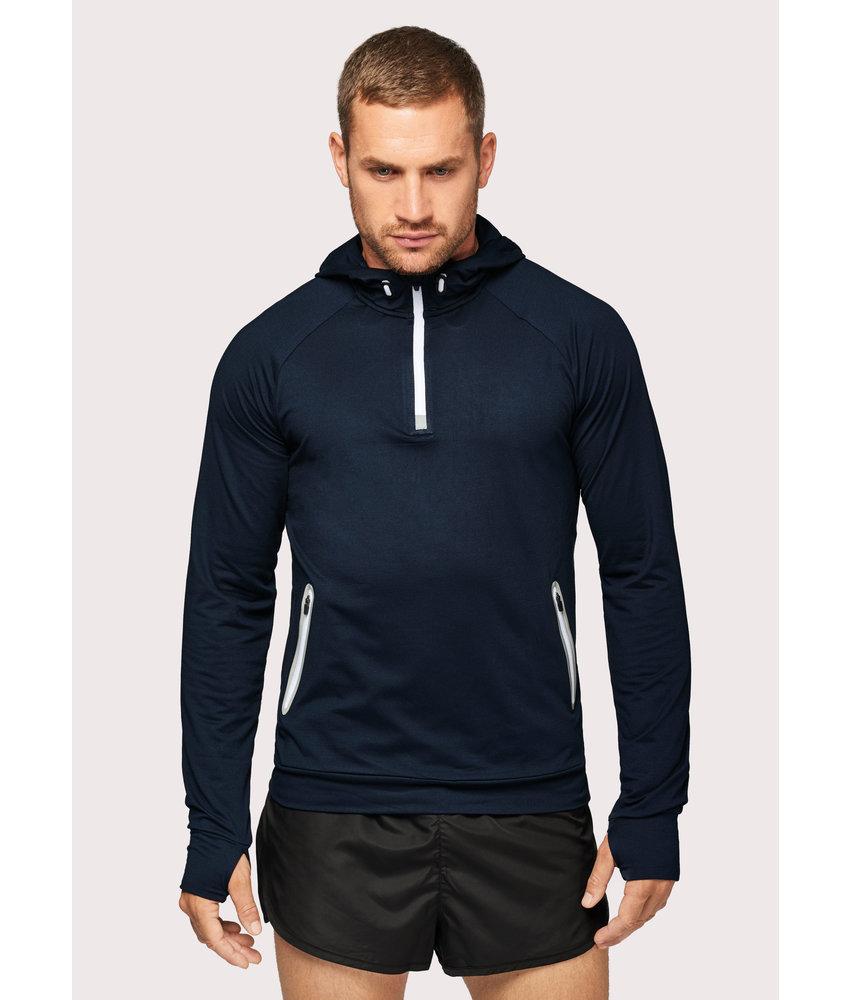 Proact 1/4 Zip Hooded Sports Sweater