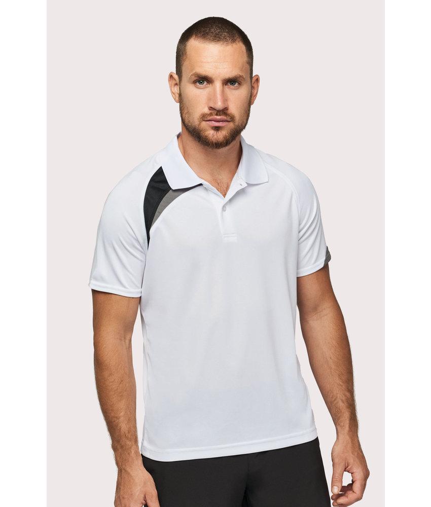 Proact | PA457 | Adults' short-sleeved sports polo-shirt
