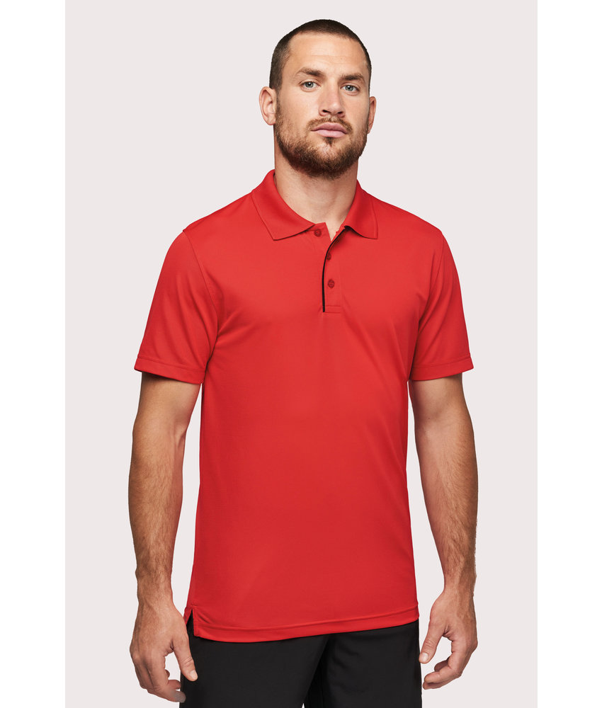 Proact | PA485 | Short-sleeveD piqué polo shirt