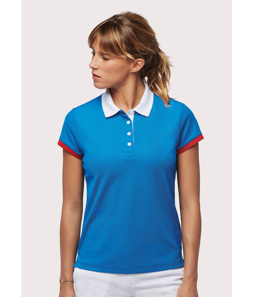 Proact | PA490 | Ladies' performance piqué polo shirt