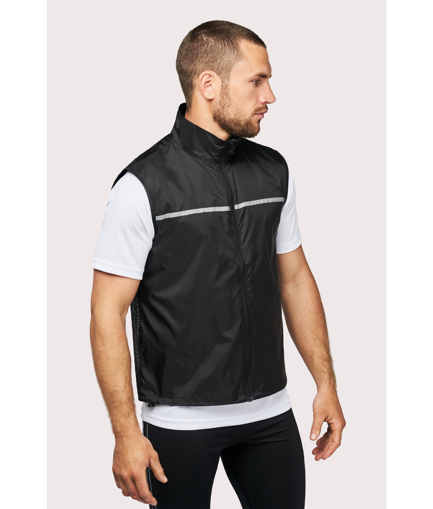 Proact | PA234 | Running gilet with mesh back