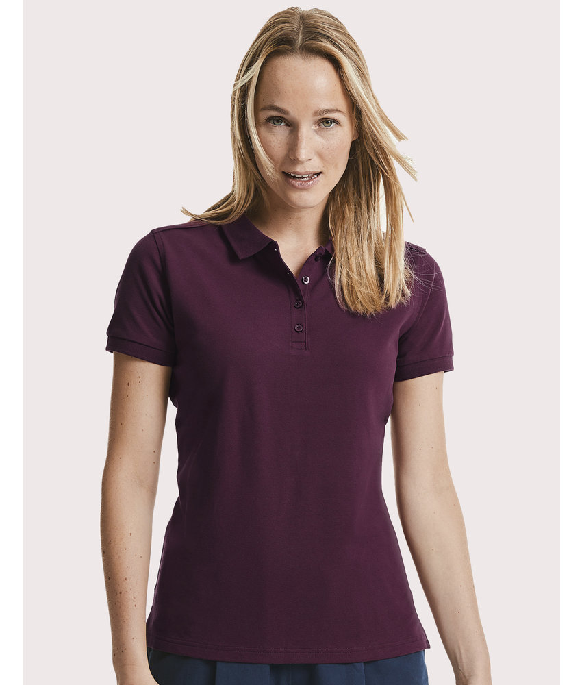 Russell | RU567F | 503.00 | R-567F-0 | Ladies' Tailored Stretch Polo