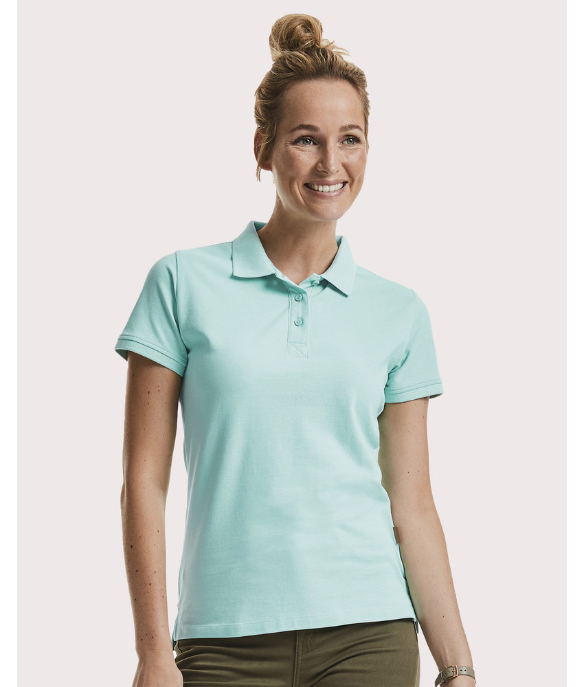 Russell | RU508F | 504.00 | R-508F-0 | Ladies' Pure Organic Polo