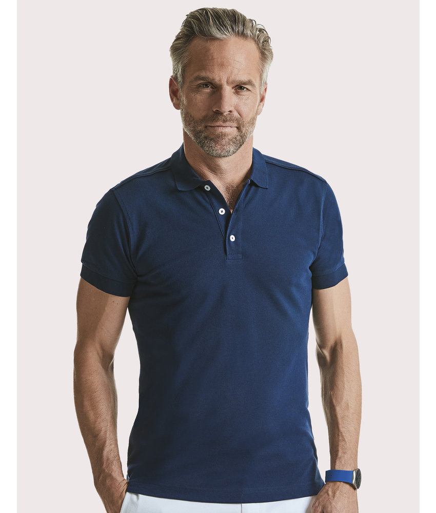 Russell | RU566M | 567.00 | R-566M-0 | Men's Fitted Stretch Polo