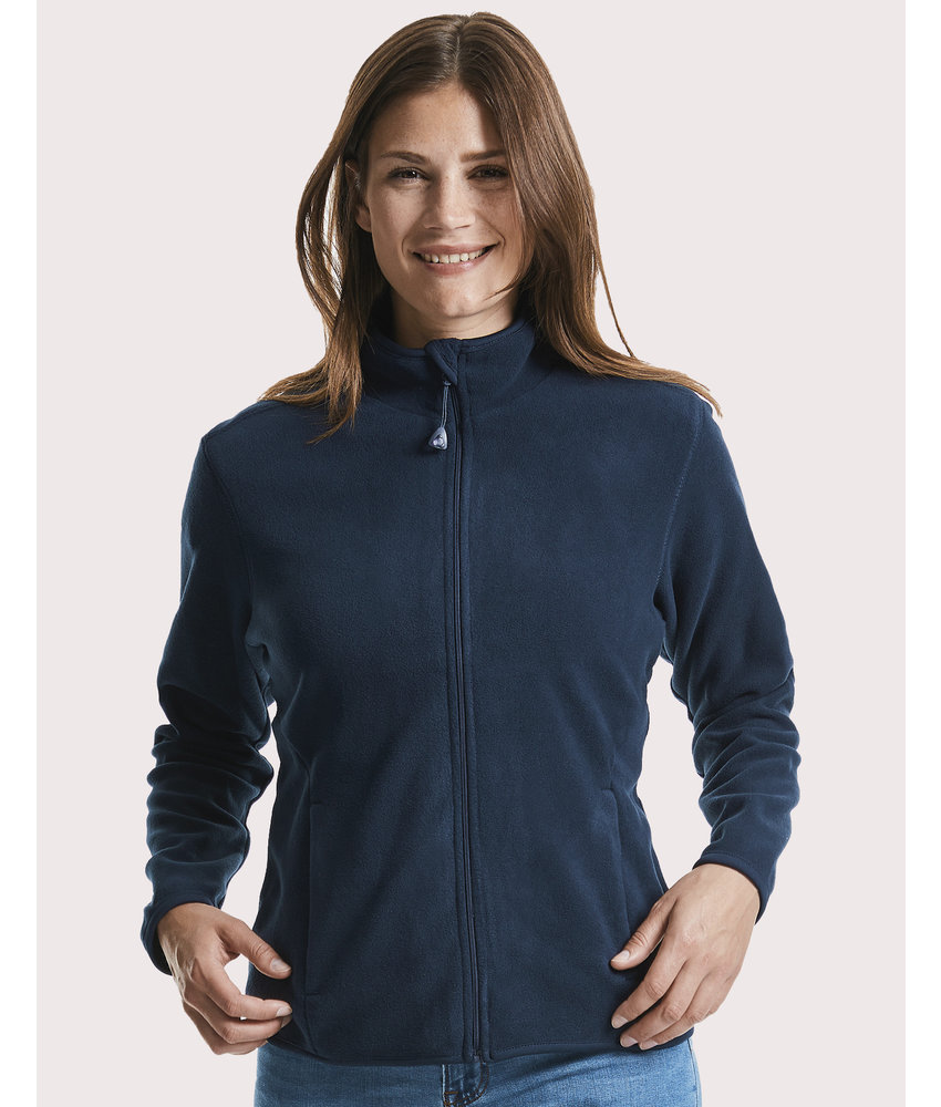 Russell | RU883F | 822.00 | R-883F-0 | Ladies' Fitted Full Zip Microfleece