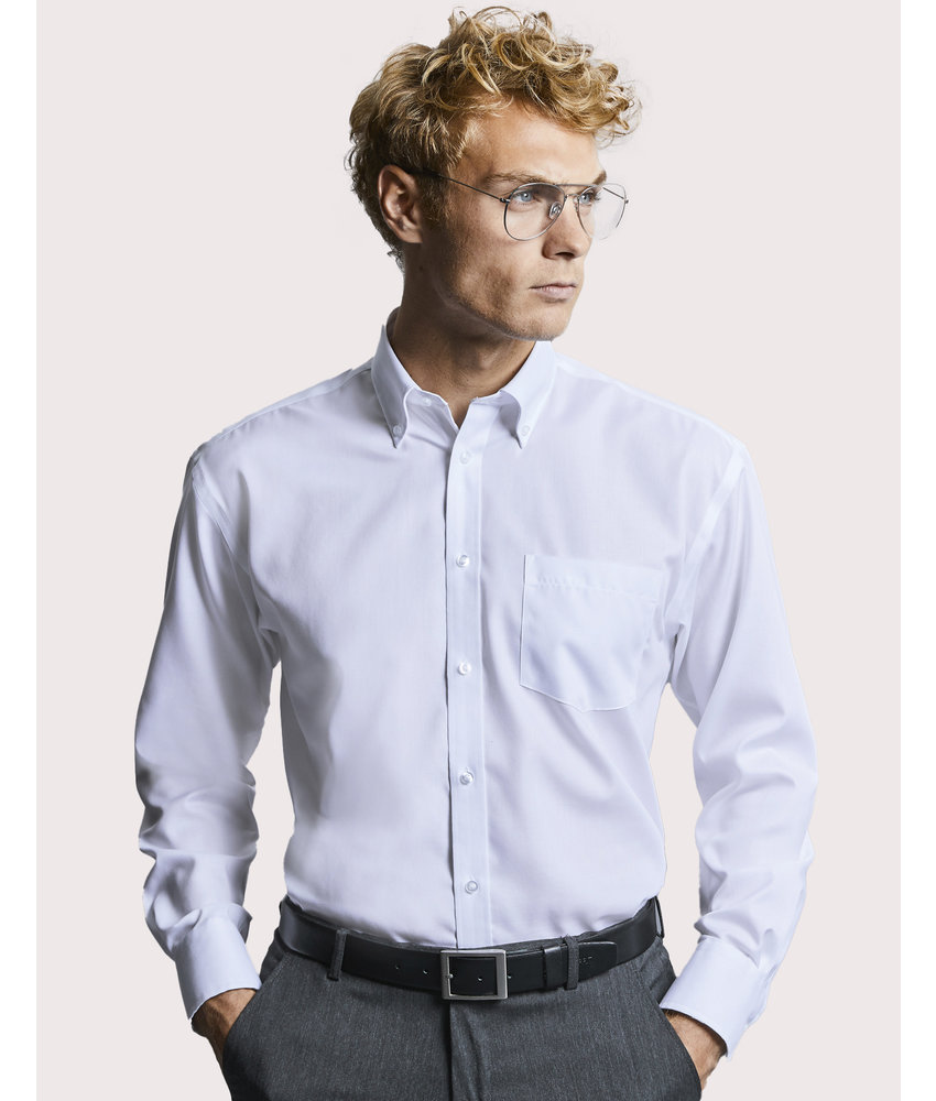 Russell Collection | RU956M | 756.00 | R-956M-0 | Ultimate Non-Iron Shirt Long Sleeve