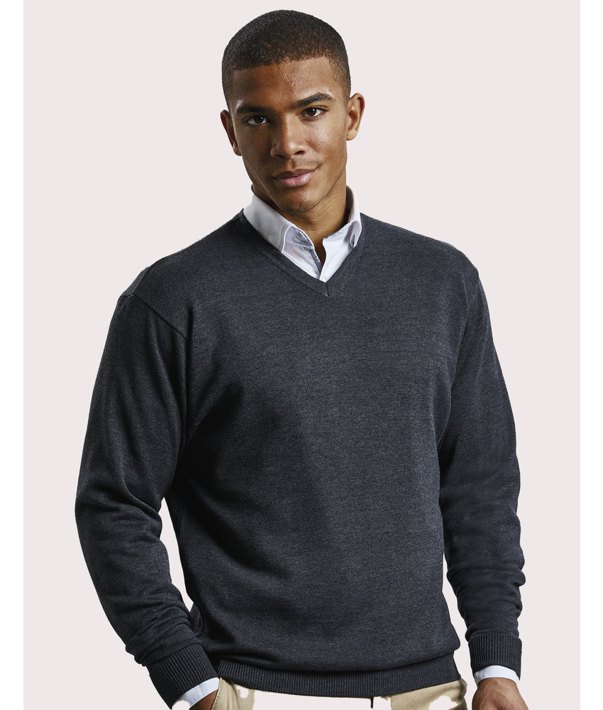 Russell Collection | RU710M | 762.00 | R-710M-0 | Men's V-Neck Knitted Pullover
