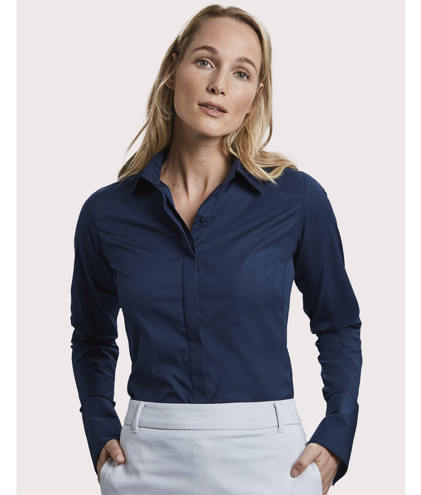 Russell Collection | RU960F | 768.00 | R-960F-0 | Ladies' LS Ultimate Stretch Shirt