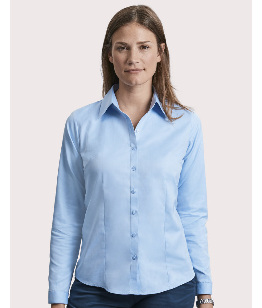 Russell Collection | RU962F | 769.00 | R-962F-0 | Ladies' LS Herringbone Shirt