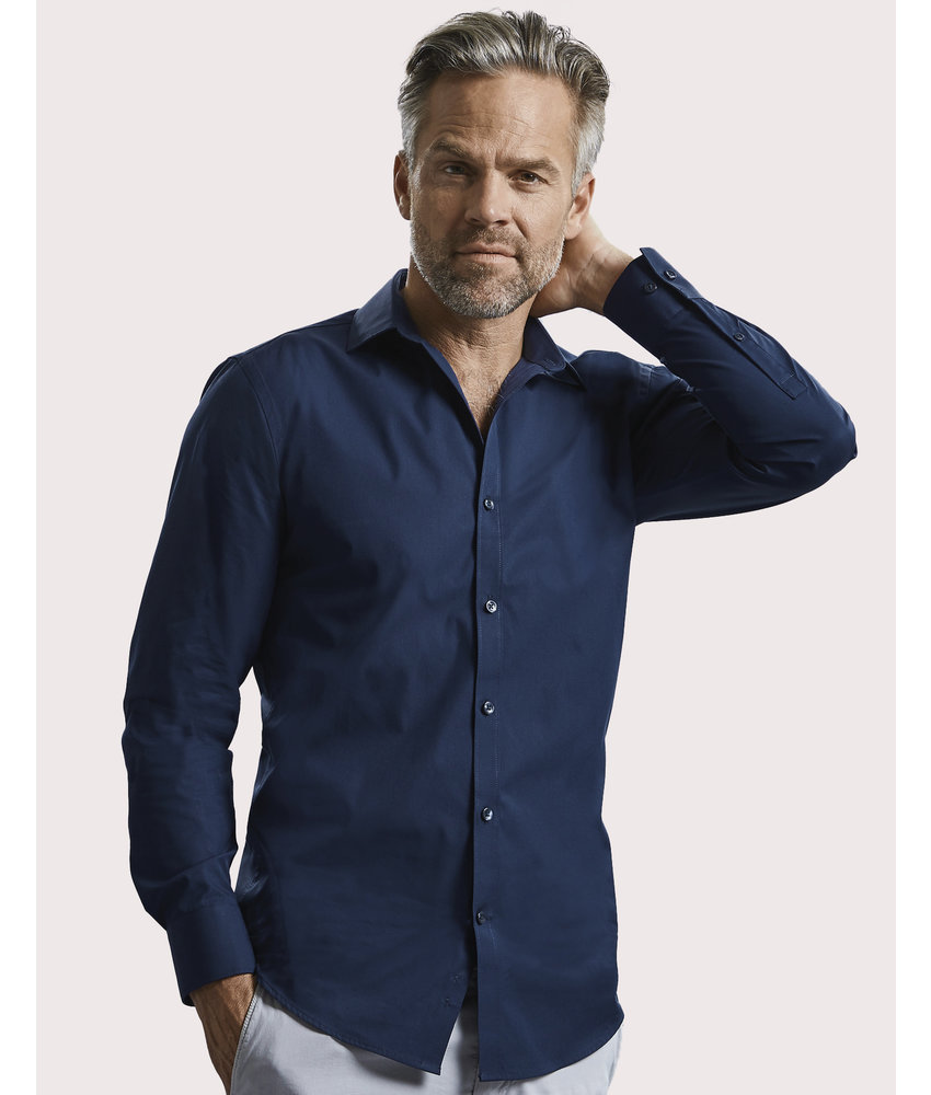 Russell Collection | RU960M | 788.00 | R-960M-0 | Men's LS Ultimate Stretch Shirt