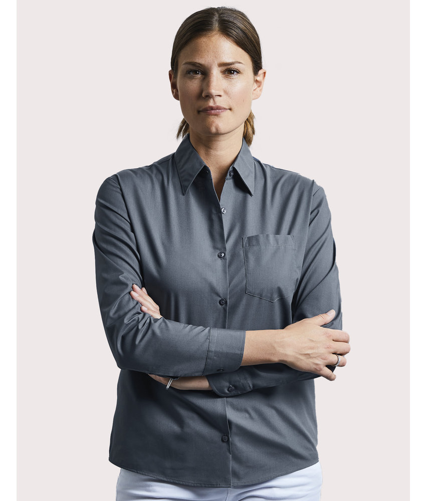 Russell Collection | RU934F | 795.00 | R-934F-0 | Ladies' LS Poplin Shirt