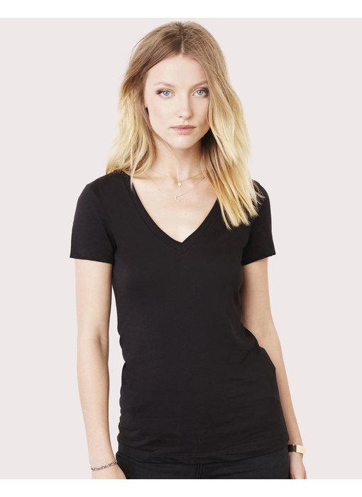 Bella + Canvas | BE6035 | 102.06 | 6035 | Women's Deep V-Neck Jersey T-Shirt