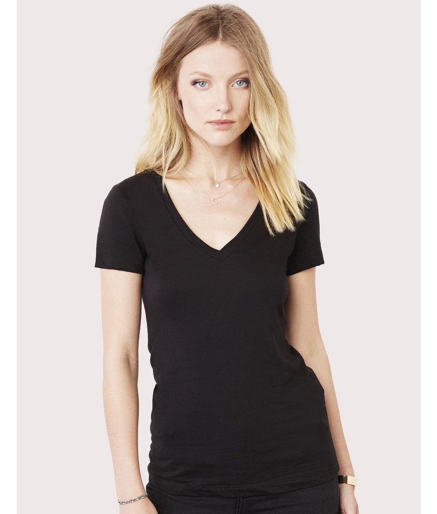 Bella + Canvas | BE6035 | 102.06 | 6035 | Women's Deep V-Neck Jersey T-Shirt