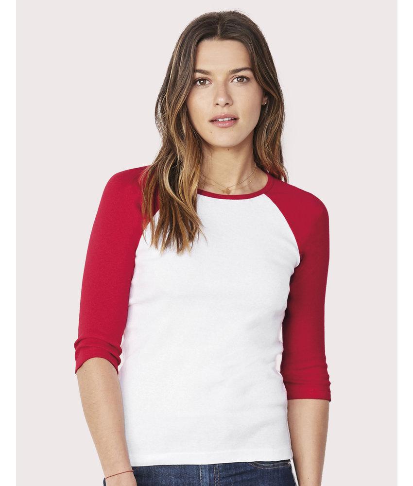 Bella + Canvas | BE2000 | 110.06 | 2000 | 3/4 Sleeve Contrast Raglan T-Shirt