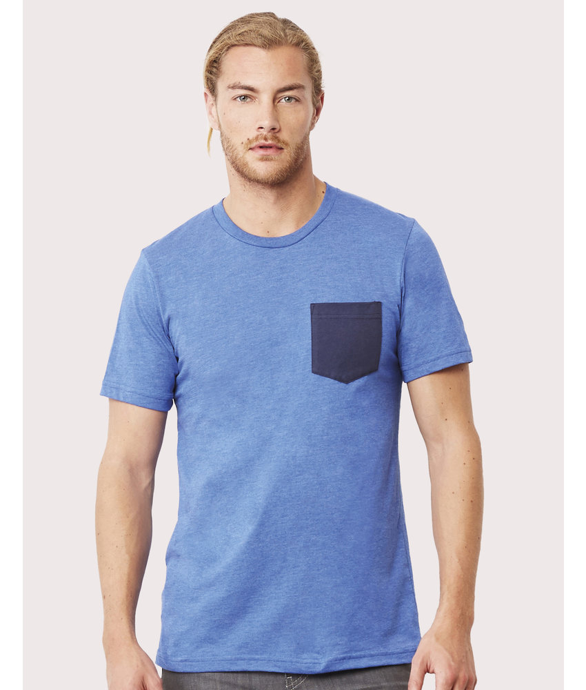 Bella + Canvas | BE3021 | 156.06 | 3021 | Men's Jersey Pocket T-Shirt
