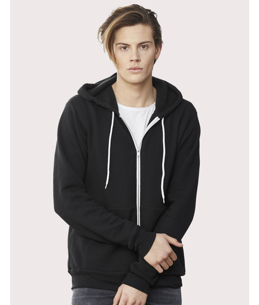Bella + Canvas   BE3739   293.06   3739   Unisex Poly-Cotton Full Zip Hoodie