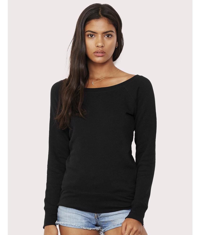 Bella + Canvas   BE7501   207.06   7501   Sponge Fleece Wideneck Sweatshirt