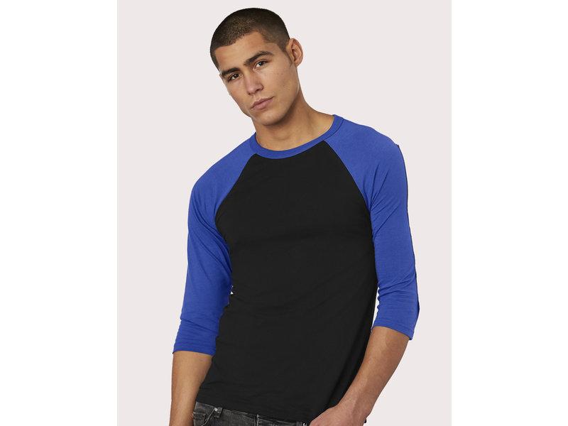 Bella + Canvas Triblend 3/4 Sleeve Baseball T-Shirt