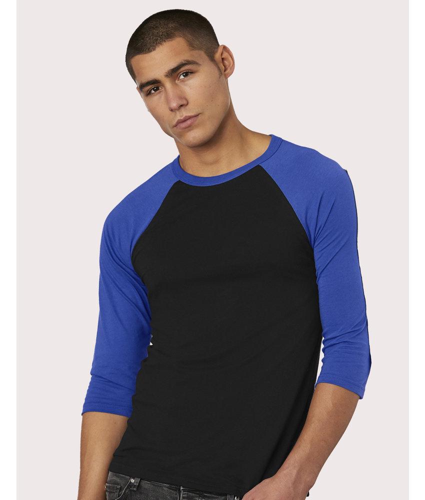 Bella + Canvas | BE3200 | 163.06 | 3200 | Unisex 3/4 Sleeve Baseball T-Shirt