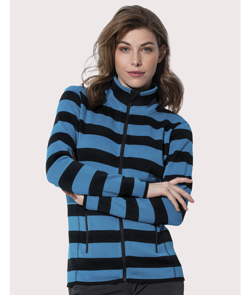 Stars by Stedman | 801.05 | ST5190 | Striped Fleece Jacket Women