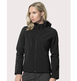 Stars by Stedman Women's Active Softest Shell Hooded Jacket