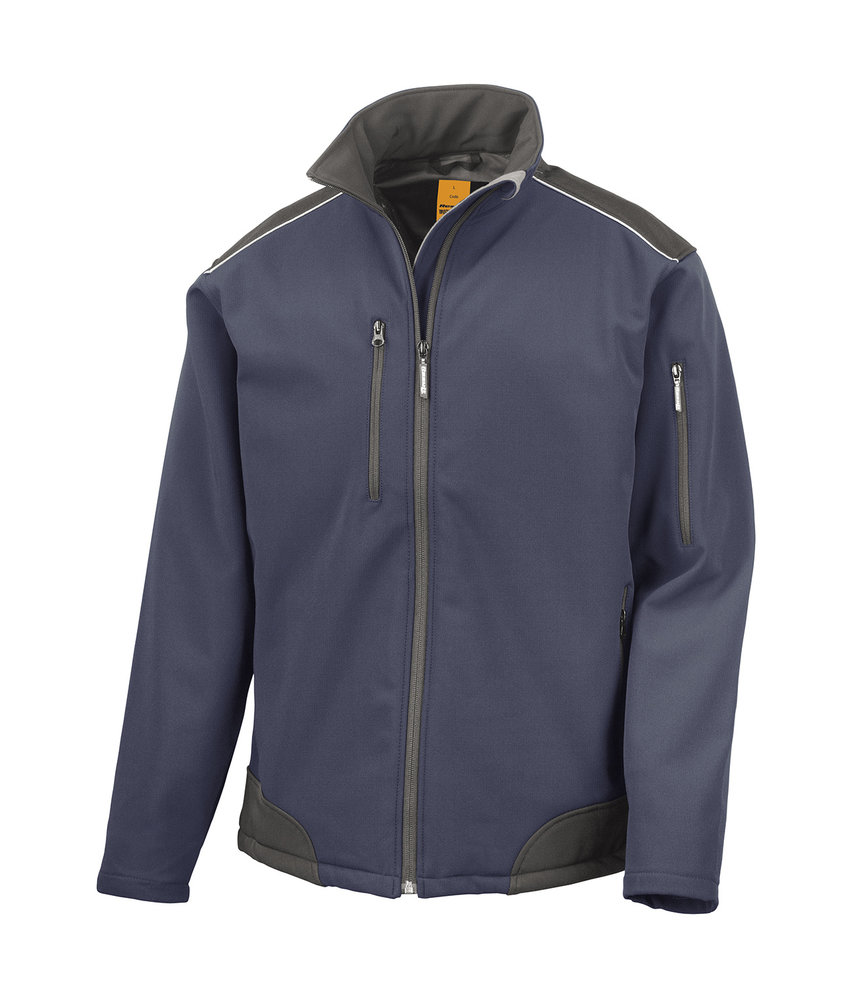 Result Work-Guard | R124 | 447.33 | R124X | Ripstop Softshell Work Jacket