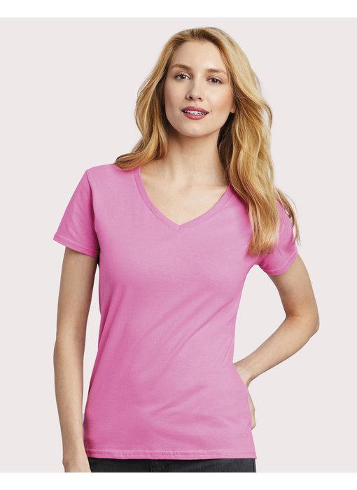Gildan | GI4100VL | 144.09 | 4100VL | Premium Cotton Ladies V-Neck T-Shirt