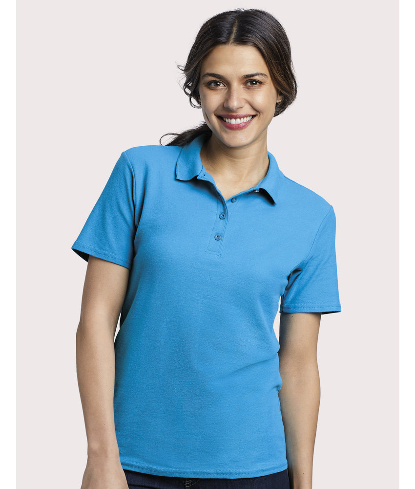 Gildan | GI64800L | 500.09 | 64800L | Softstyle® Ladies Double Pique Polo