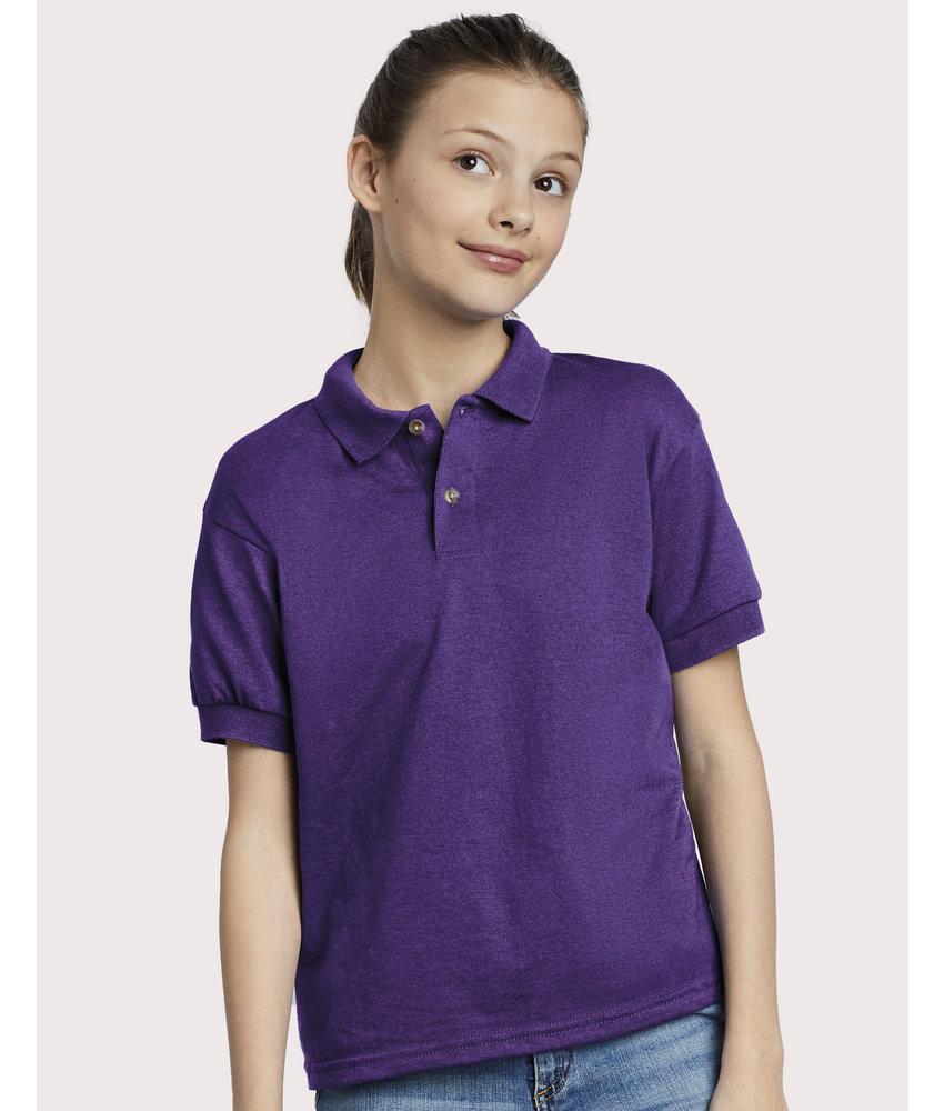 Gildan | GI8800B | 589.09 | 8800B | Dry Blend® Kids Jersey Polo