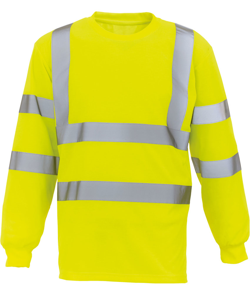 Yoko | YHVJ420 | HVJ420 | Hi-Vis long-sleeved T-shirt