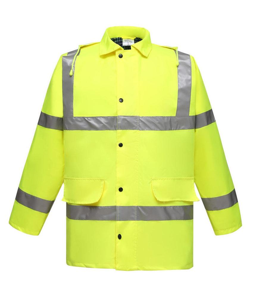 Yoko | YHVP305 | 436.77 | HVP305 | Fluo Tartan Contractor Jacket