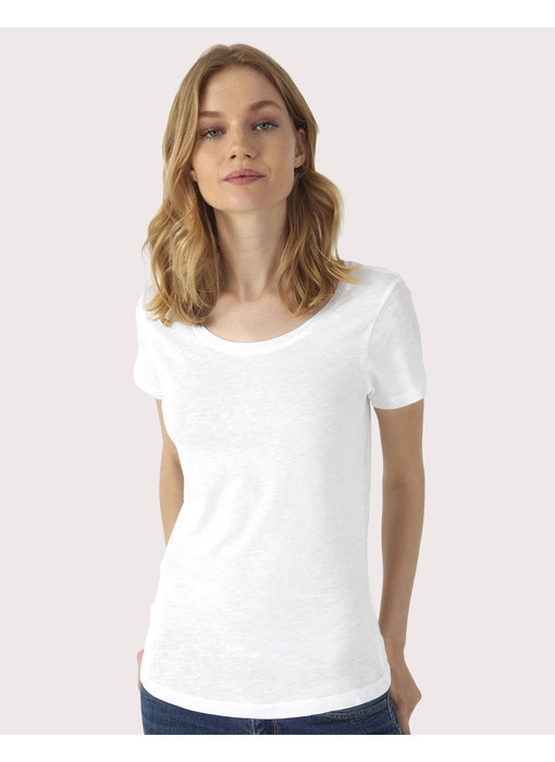 B&C | CGTW047 | 185.42 | TW047 | Inspire Slub/women T-Shirt
