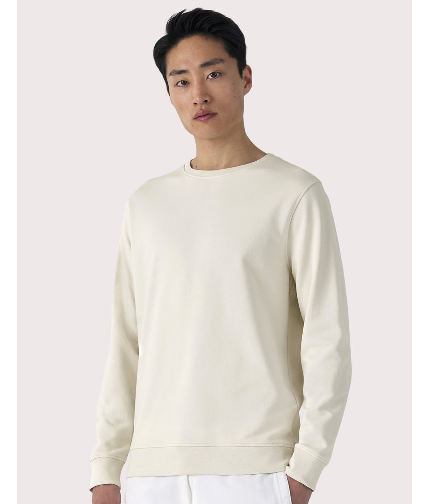 B&C | CGWU31B | 228.42 | WU31B | Organic Crew Neck French Terry